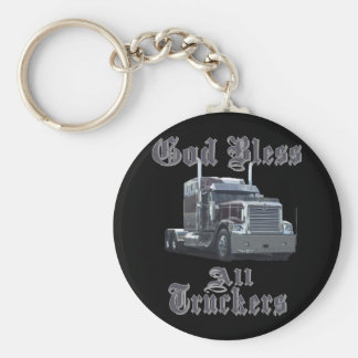 Gott segnen alle Fernlastfahrer Schlüsselanhänger