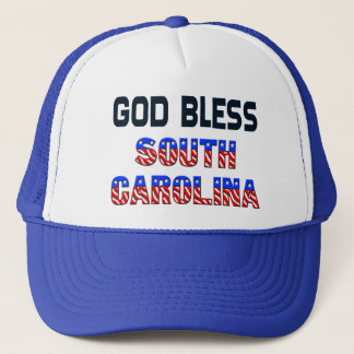 Gott segnen South Carolina Truckerkappe