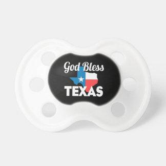 Gott segnen Texas Schnuller