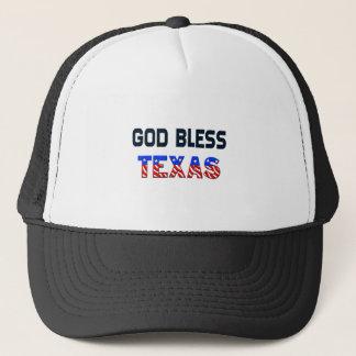 Gott segnen Texas Truckerkappe