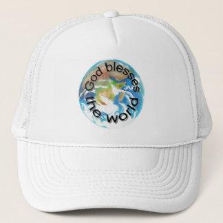 Gott segnet die Welt, Hüte Truckerkappe