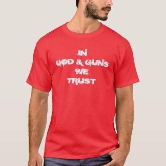 Gott und Gewehre T-Shirt