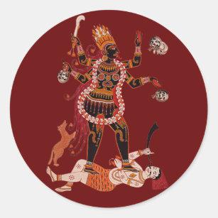 Göttin Kali Aufkleber