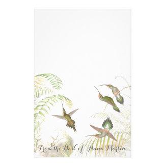 Goulds Kolibri-personalisiertes Briefpapier