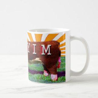 Goyim oder Vieh-Schale Kaffeetasse