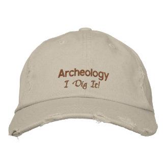 Grabung der Archäologie-I es Bestickte Baseballkappe