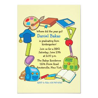 Grad-SchulAbschluss-Einladung 12,7 X 17,8 Cm Einladungskarte