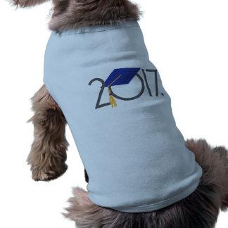 Graduiertes Haustier-Behälter-Shirt des Ärmelfreies Hunde-Shirt