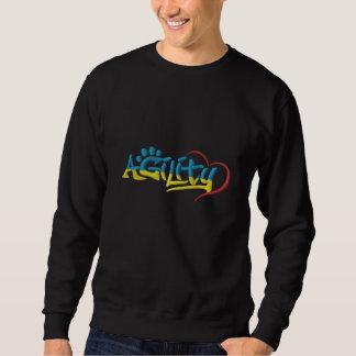 Graffiti-Agility gesticktes Shirt Bestickter Sweater