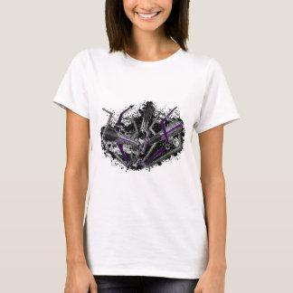 Graffiti Demisexual Blitz und Pfeile T-Shirt