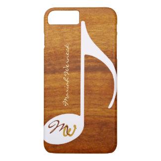 grafische Musikholzart iPhone 7 Plus Hülle