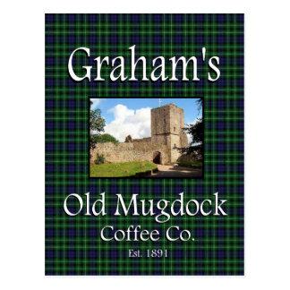 Graham alte Mugdock Postkarte Kaffee-Co.