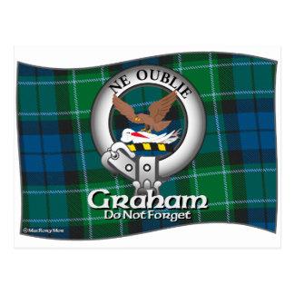 Graham-Clan Postkarte
