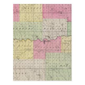 Graham County, Kansas Postkarte