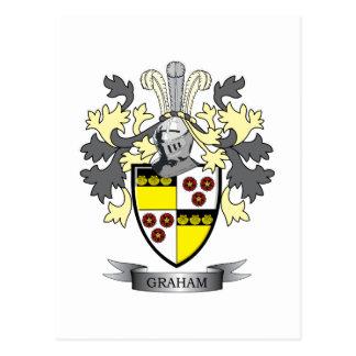 Graham-Familienwappen-Wappen Postkarte