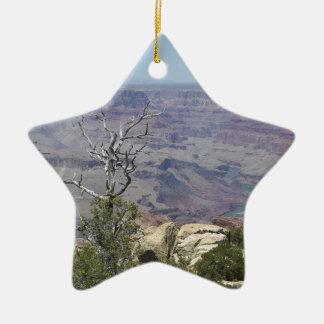 Grand Canyon Arizona Keramik Stern-Ornament