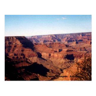Grand Canyon, Arizona-Postkarte Postkarten