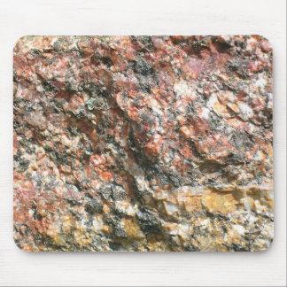 Granit-Stein-Blick-Fotografie-Mäusematte Mousepads