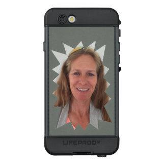 Grau-Explosions-Foto-Rahmen LifeProof NÜÜD iPhone 6s Hülle