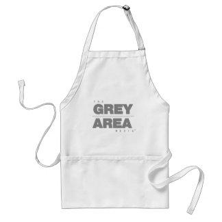 Grau-\ Grauzone-Kleid Schürze