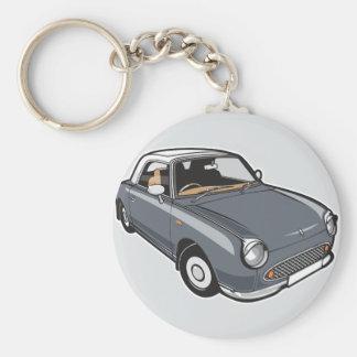 Grau Nissan Figaros Lapiz Schlüsselanhänger