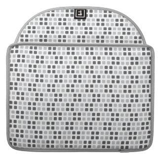Grau quadriert Macbook Prohülse, Fall Sleeves Für MacBook Pro