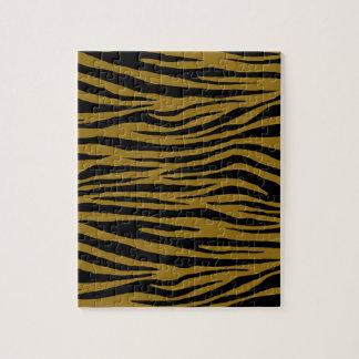 Graubrauner Tiger Puzzle
