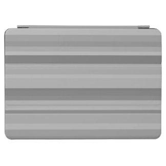 Graue horizontale Streifen iPad Air Hülle