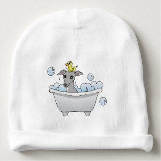 Graue Jagdhund-Bad-Zeit Babymütze