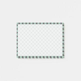 Graue Kombinations-Kreise durch Shirley Taylor Post-it Klebezettel