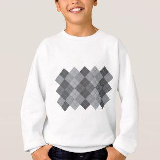 Graue Raute Sweatshirt