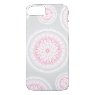 Grauer Blumen-Kasten iPhone 8/7 Hülle
