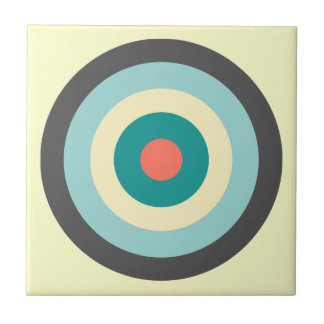 Graues Kombinations-Bullauge durch Shirley Taylor Kleine Quadratische Fliese