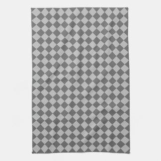 Graues Kombinations-Diamant-Muster durch Shirley Küchentuch