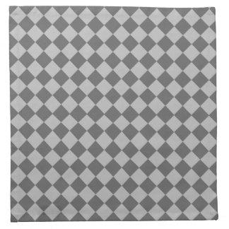 Graues Kombinations-Diamant-Muster durch Shirley Stoffserviette