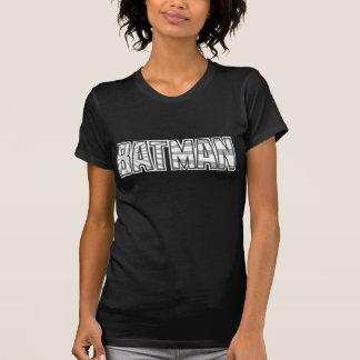 Graues Starbust Logo Batmans | T-Shirt