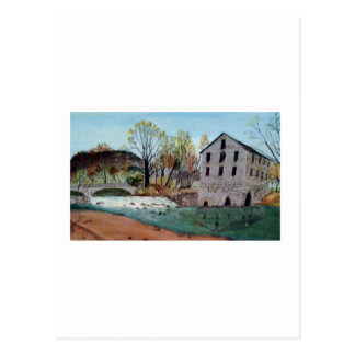 Graysville Mühle - Alton Vaughn Postkarte