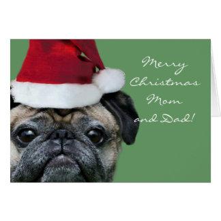 Greeeting Karte des frohe Weihnacht-Mamma-und