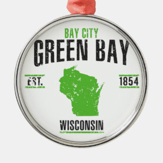 Green Bay Silbernes Ornament