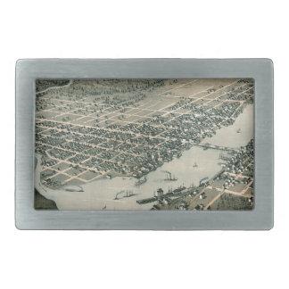 Green Bay Wisconsin 1867 Rechteckige Gürtelschnalle