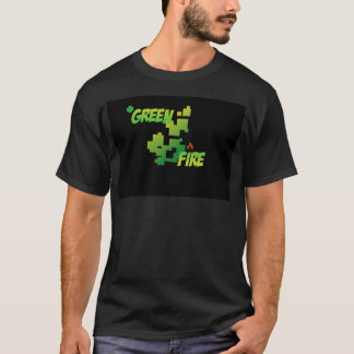 Green fire T-Shirt