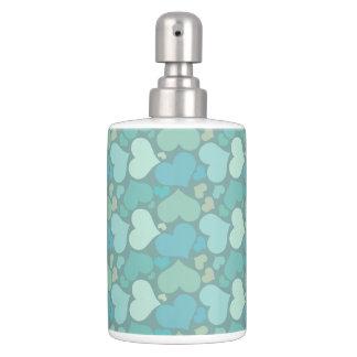 Green Love Set of Bathroom Seifenspender