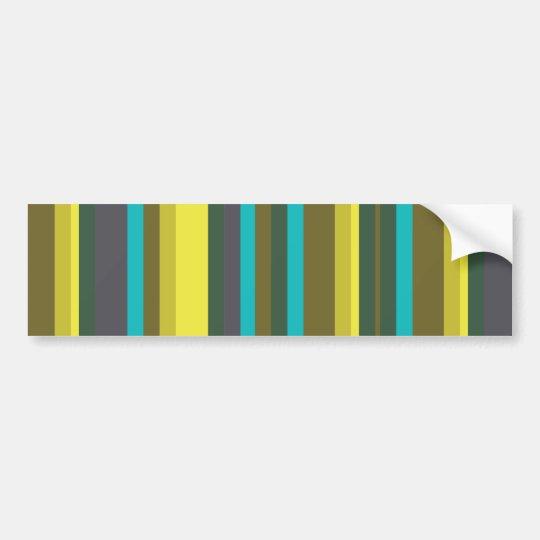Green_stripes Autoaufkleber