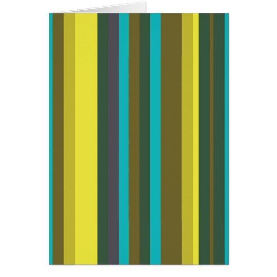 Green_stripes Grußkarte