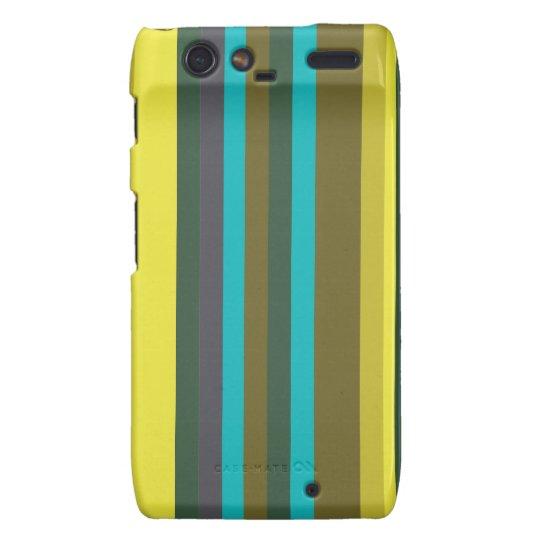 Green_stripes Motorola Droid RAZR Cover