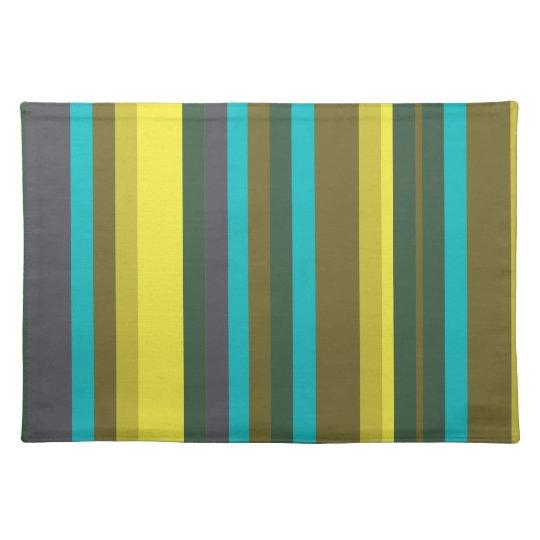 Green_stripes Tischset