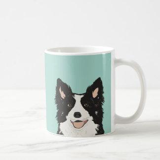 Grenzcollie-Tasse - niedliches Hundegeschenk für Tasse