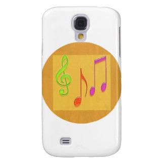 Grenze, zum gut zu klingen - Tanzmusik-Symbole Galaxy S4 Hülle