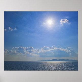Griechenland, die Kykladen-Inseln, Ägäisches Meer Poster