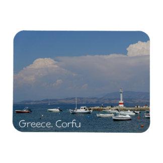 Griechenland, Korfu, alter Leuchtturm, Magnet